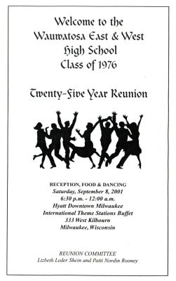 25th Reunion - inside cover right